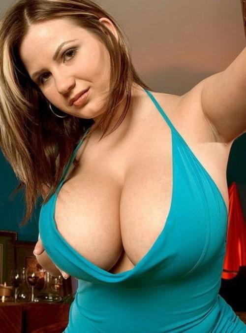 Chubby with big boobs